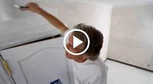 conseils videos painttrade With peindre un mur en platre