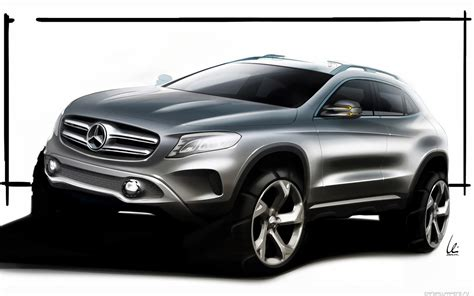 Mercedes Gla Class Backgrounds by Automotivegeneral 2015 Brabus Mercedes Gla Class