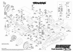 Cars  U0026 Trucks - Replacement Parts - Traxxas Parts - Electric - Bandit Vxl