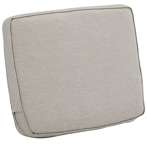 Back Cusion - 25 x 22 patio chair back cushion in outdoor cushions