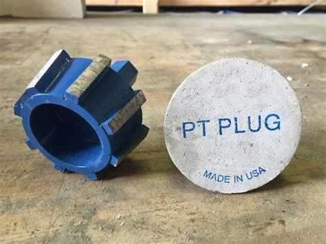 Post Tension Plugs  Concrete Construction Magazine   Post