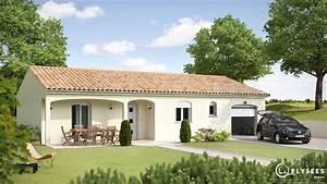 Porche Entrée Maison : mezia maison premier prix avec porche d 39 entr e ~ Premium-room.com Idées de Décoration