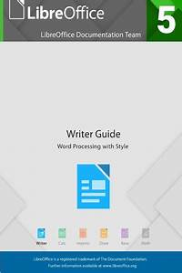 Libreoffice 5 4 Writer Guide