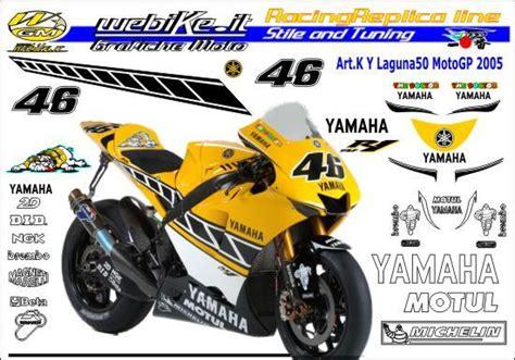 webike it kit adesivi race replica yamaha motogp 50 laguna 2005 grafiche moto di qualit 224