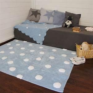 Lorena Canals Teppich : lorena canals teppich polka dots blue white ~ Whattoseeinmadrid.com Haus und Dekorationen