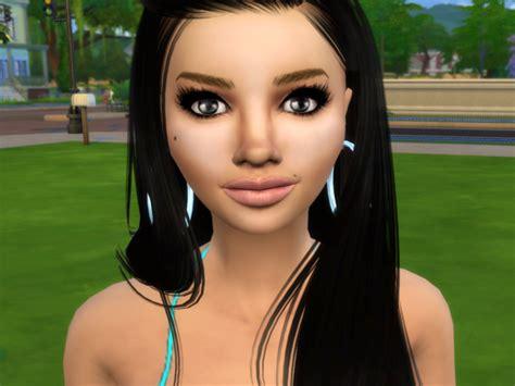 Sims 4 Caliente Celebrity Sim Cassie Ventura By