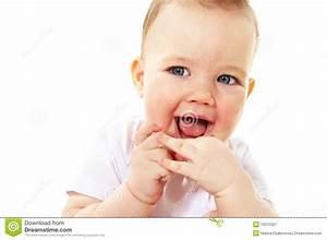 Laughing Baby Boy Stock Image - Image: 10315321
