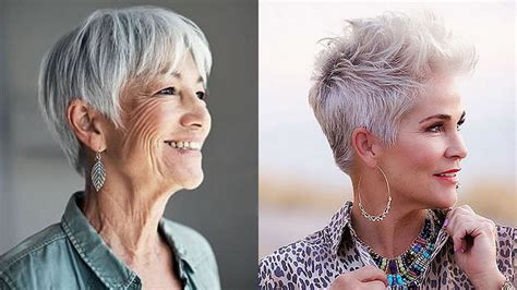 New short haircuts for older women over 50 HAIRSTYLES