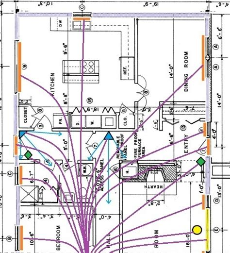 Burglar Alarm Wiring For Securing Doors