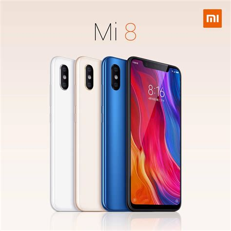 xiaomi mi 8 officially announced looks a lot like the iphone x