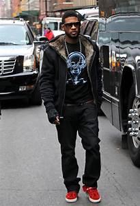 Usher Hoodie - Usher Clothes Looks - StyleBistro