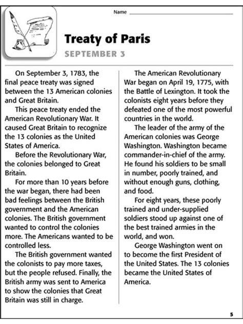 Important September 11 Reading Comprehension Worksheet Goodsnyccom