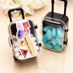 theme wedding favors mini rolling travel suitcase favor 6 pcs theme wedding favors wedding favor themes