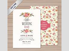 Wedding card vector free vector download 13,412 Free