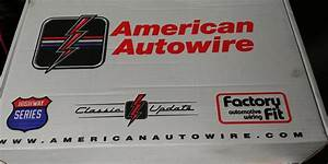 Fs  For Sale  American Autowire Kit For Corvette