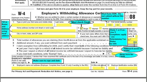 michigan w 4 form and for nonresident aliens
