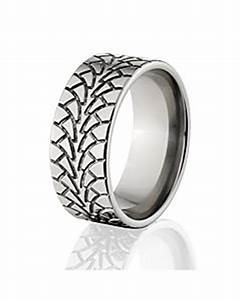 tire tread rings motorcycle rings off road rings With off road wedding rings