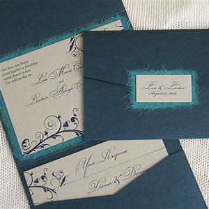 diy pocket fold wedding invitation nyc barbados With pockets for wedding invitations diy