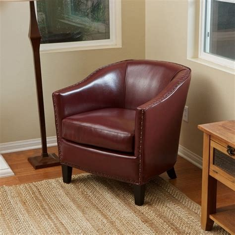 small leather club chair chair design