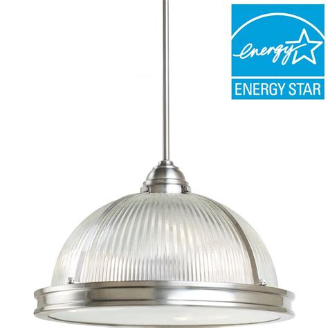 sea gull lighting pratt prismatic 3 light brushed