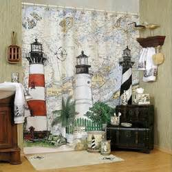 shower curtains seaside interior decorating
