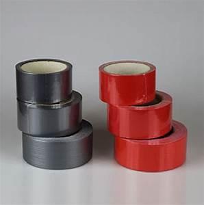 Pe Kleber Wasserdicht : gewebeband rot grau 10 50m panzerband steinband duct panzertape klebeband probaumarkt ~ Watch28wear.com Haus und Dekorationen