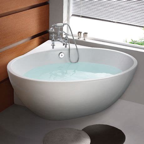 Corner Stand Alone Tub by Orbit Corner Modern Free Standing Bath 1270 X 1270mm