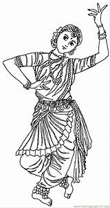 Coloring Indian Pages India Colouring Printable Dance Dancers Countries Sketch Dancing Children Dancing2 Saree November Drawing Coloringpages101 Sheets Bollywood Clouring sketch template