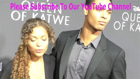 Antonia Thomas and Rege Jean Page at the Premiere Of ...