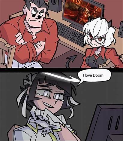 Helltaker Doom Funny Memes Anime Reddit Comics