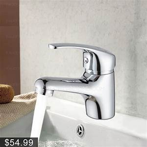 Best deck mounted cold and hot water bathroom sink faucet for Is bathroom tap water drinking water