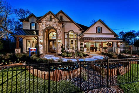 beautiful stone stucco homes homes   rich