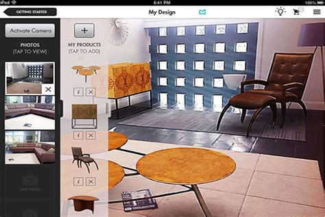 design app lets people add virtual furniture