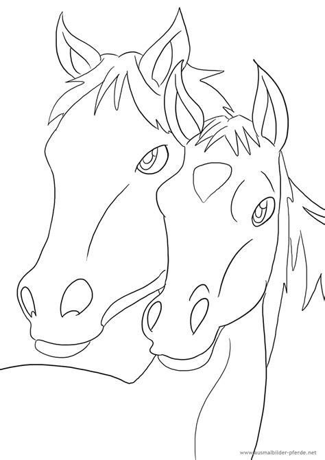 ausmalbilder mit pferden kostenlos malvorlagen zum