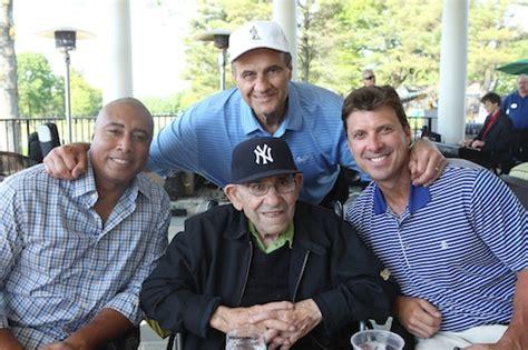yankees join yogi berra  celebrity golf classic