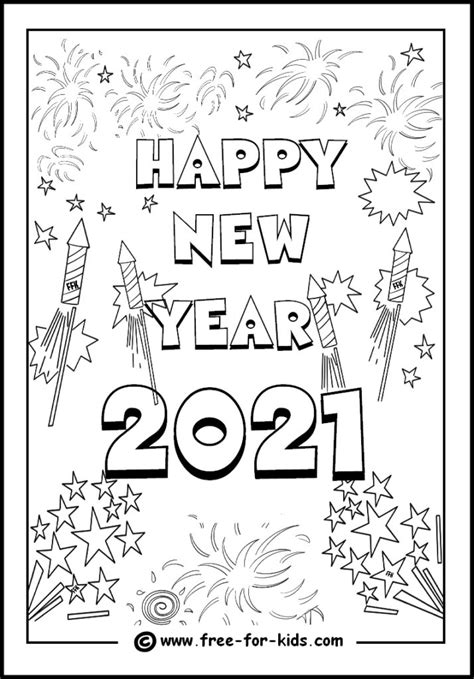 year  coloring pages coloring home