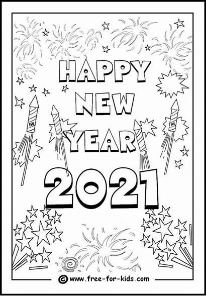 Pages Happy Coloring 2021 Colouring Popular Fireworks