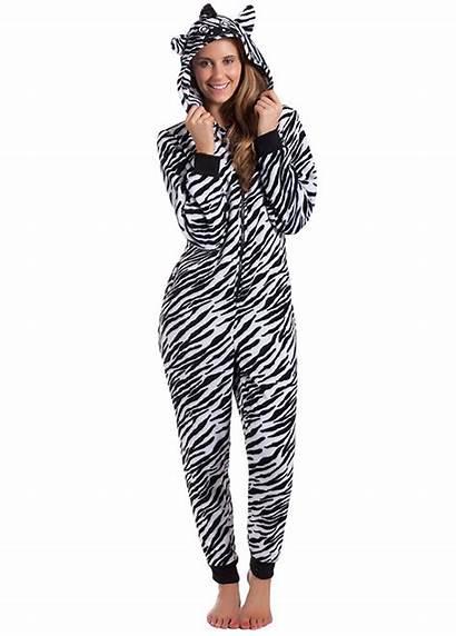 Onesie Zebra Onesies Voor Vrouwen Volwassenen Dieren