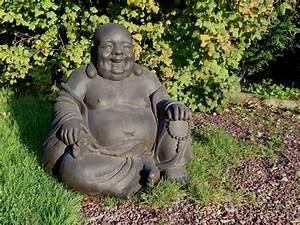 Statue Deco Jardin Exterieur : grande statue bouddha jardin khenghua ~ Teatrodelosmanantiales.com Idées de Décoration