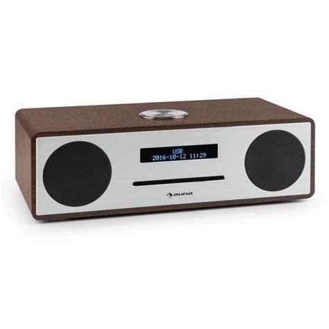 radio mit cd stanford dab cd radio dab bluetooth usb mp3 aux ukw walnuss