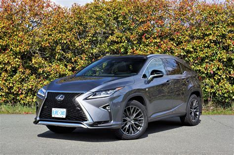 2017 Lexus Rx 350 F Sport The Car Magazine