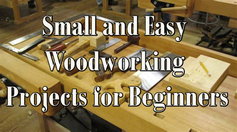 small  easy woodworking projects  beginners table