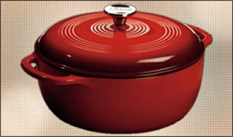 lodge enameled cast iron cookware