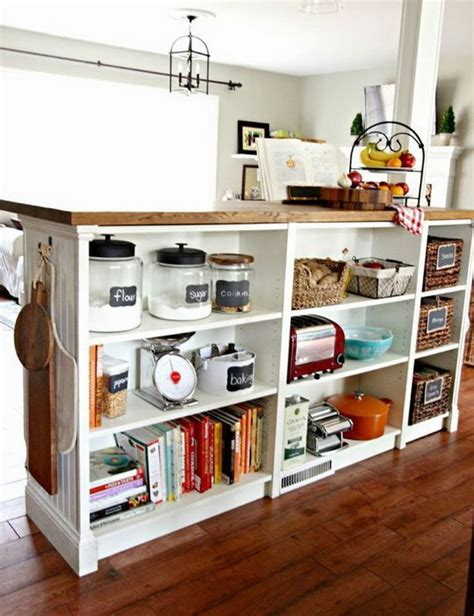 ikea island kitchen 25 ikea billy hacks that every bookworm would hative