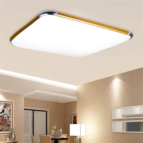 48W RGB LED Flush Mount Ceiling Light Dimming Wall Kitchen