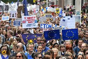 In pics: Thousands #marchforeurope in protest against ...