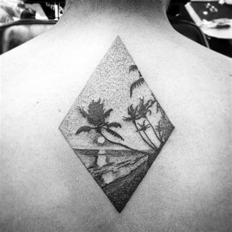 small beach tattoos  men seashore design ideas