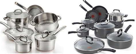 amazon    fal cookware sets today  highly rated sets     shipped hipsave