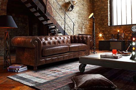 canapé style vintage the kensington chesterfield tufted sofa and