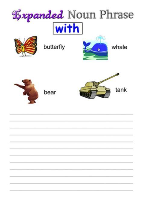 expanded noun phrases grammar narrative teaching